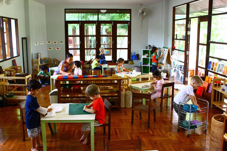 Montessori School Classroom